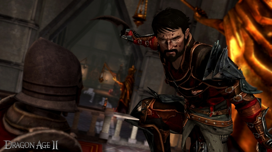 Screenshot Dragon Age 2 - Protagonist