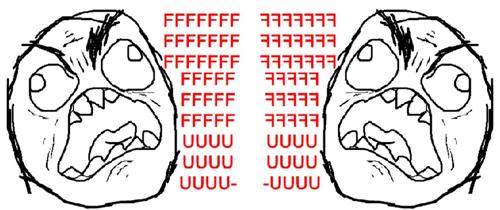 Ragefaces (© the interwebs)
