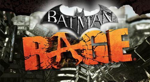 Batman's Rage Mashup (© batmanarkhamcity.com & rage.com)