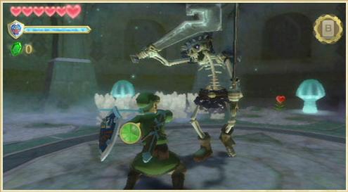 Der erste (nervende) Zwischenboss bei Skyward Sword (© zelda.com)