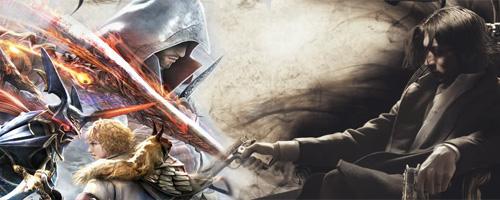 Ezio & Jackie (© soulcalibur.com & embracethedarkness.com)