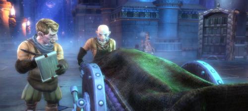 Gnome bei der Arbeit, Hendriks ist nicht dabei. (© ea.com)