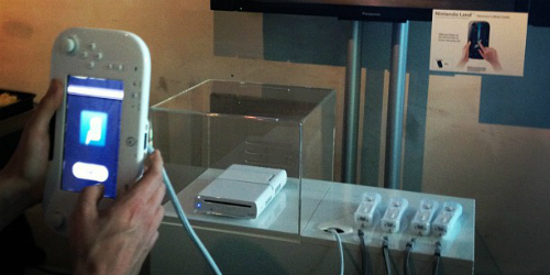 Die Wii U bei der Vorstellung in Berlin