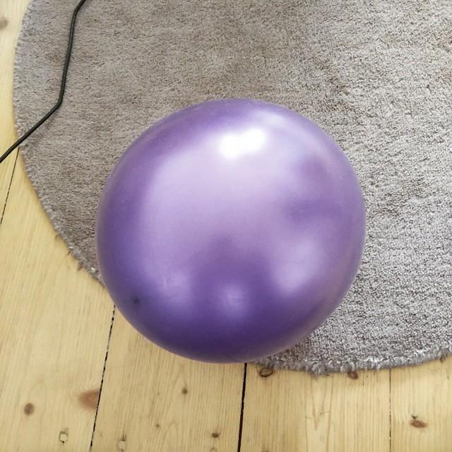 Der Aufweckluftballon